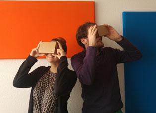 Réalité virtuelle cardboard