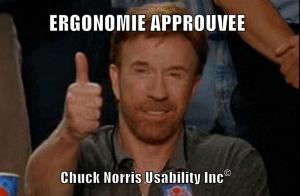 Pas besoin d'être Chuck Norris pour s'assurer d'un minimum d'ergonomie pour le joueur