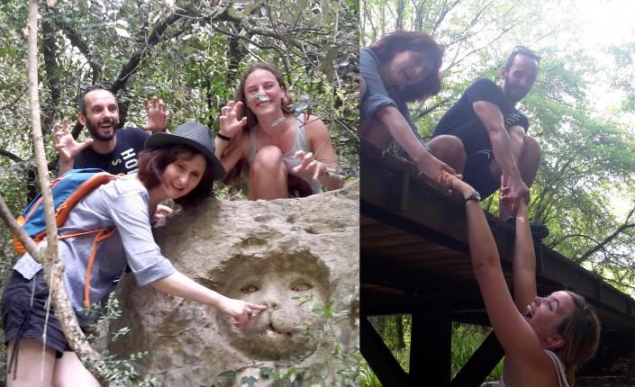 Des essais pour le défi de la photo la plus drôle de l'équipe « La Rosée »