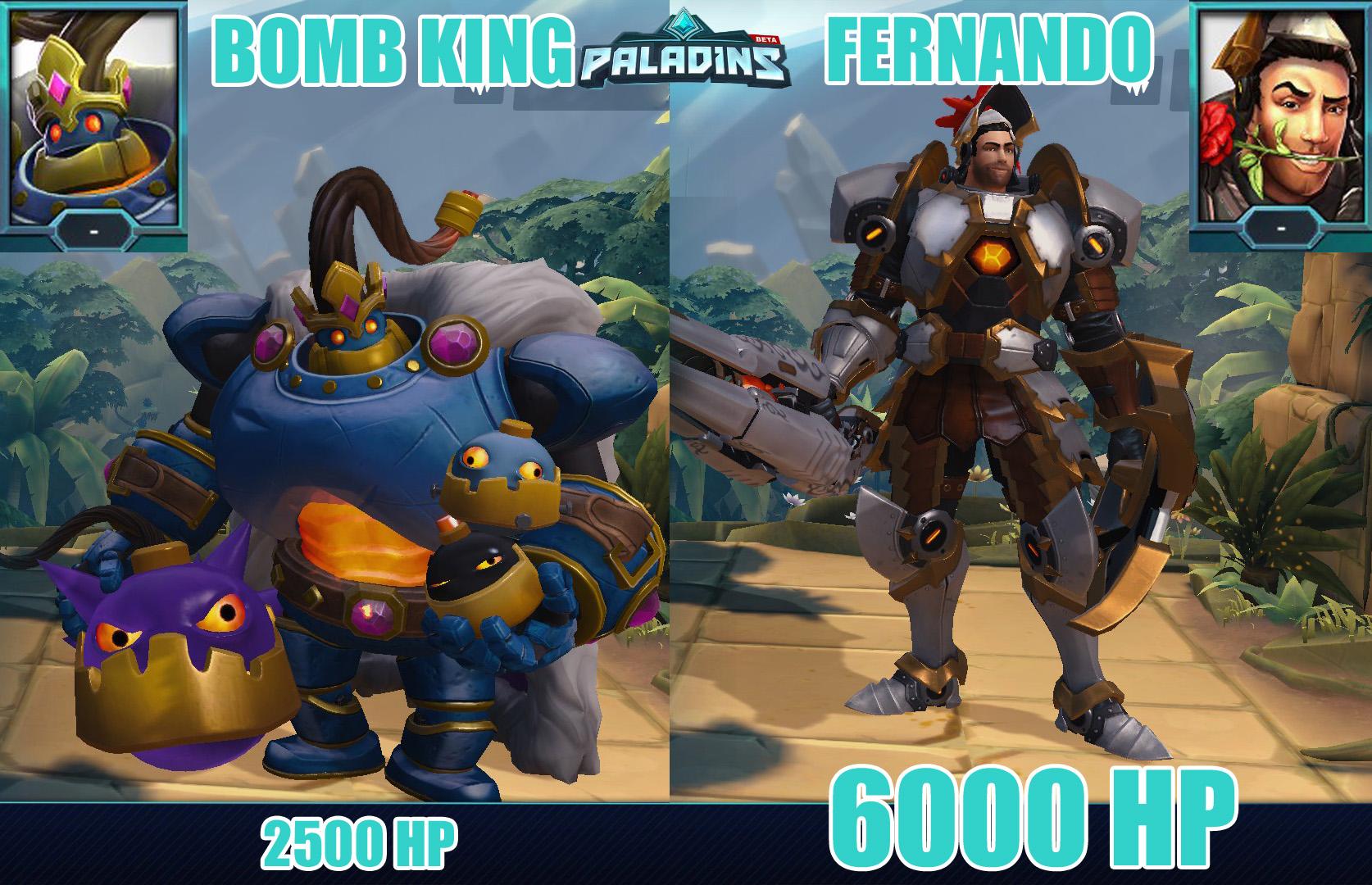 Image de Fernando et Bomb King et de leur portrait