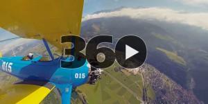Les films : vidéo 360° avec une GoPro