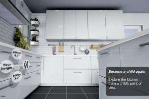 L'architecture : IKEA VR Expérience pour visiter une cuisine