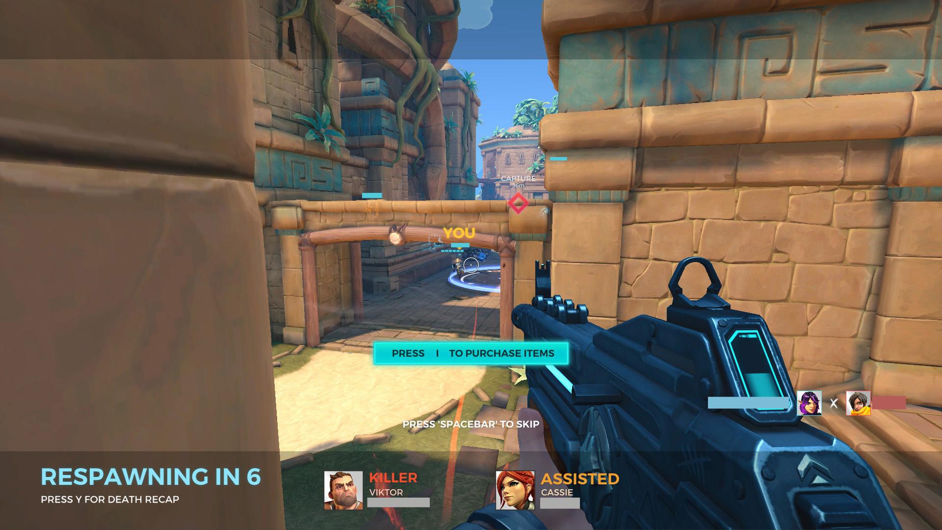 Les derniers moments avant la mort sont repassés au joueur du point de vue de son assaillant pour l'aider à comprendre.