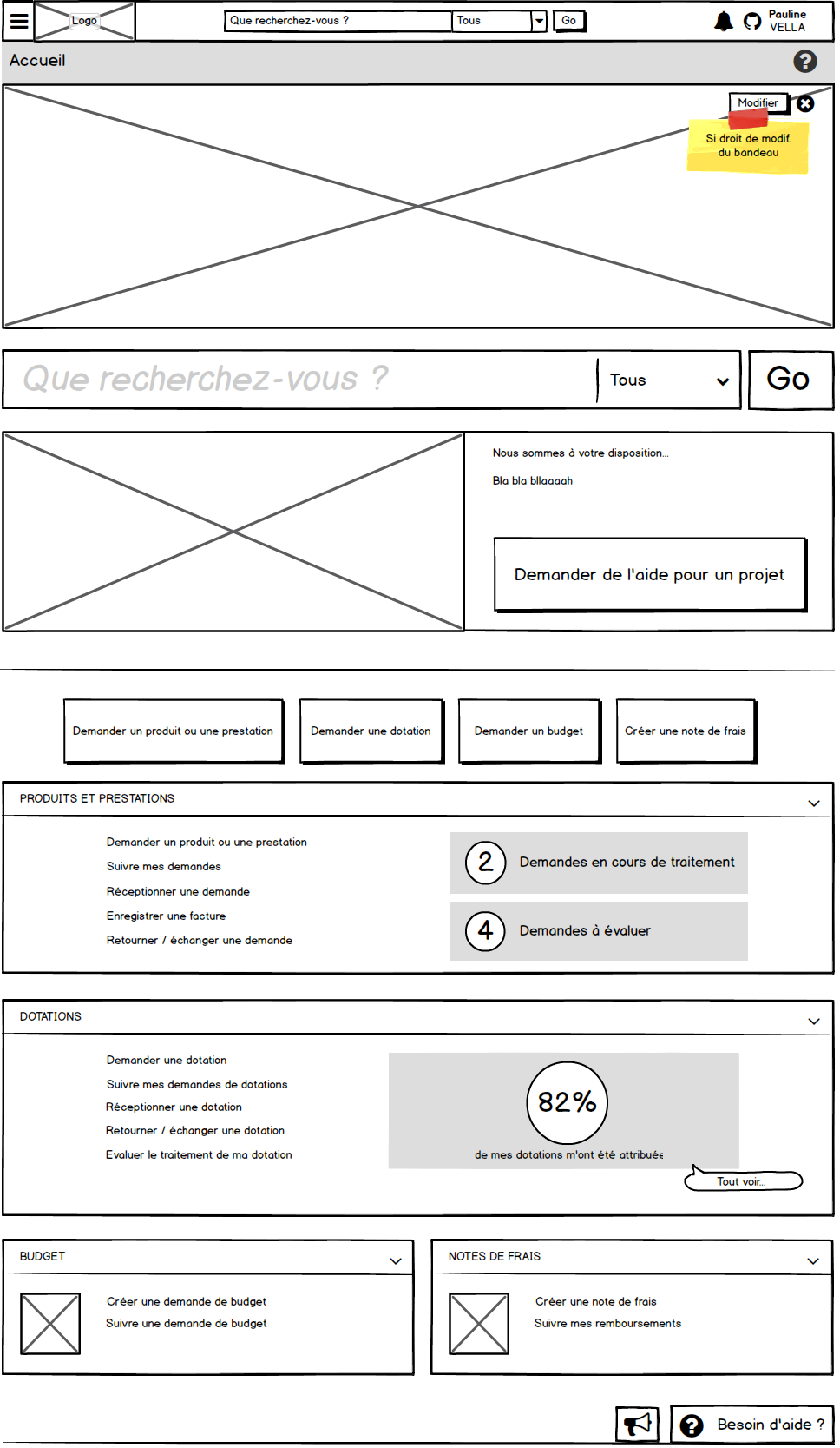 mock-up Balsamiq