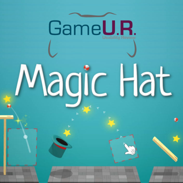 logo GameUR Magic Hat
