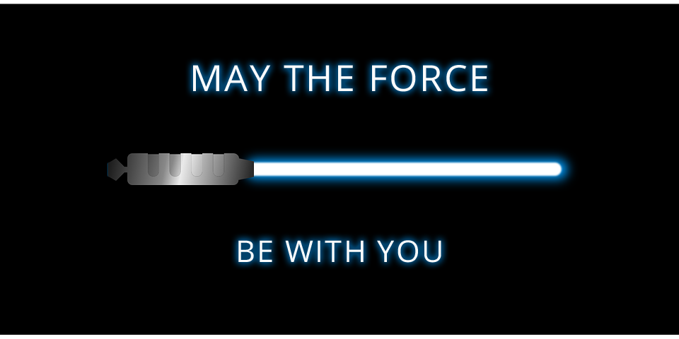 """Sabre laser : """"may the force with you"""" (stage 2016)"""